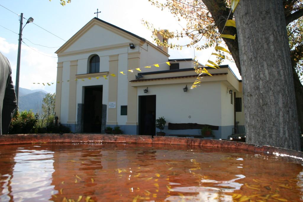chiesa di  Santa  Maria   delle 7 piante ( fontanelle ) a.d. 1853